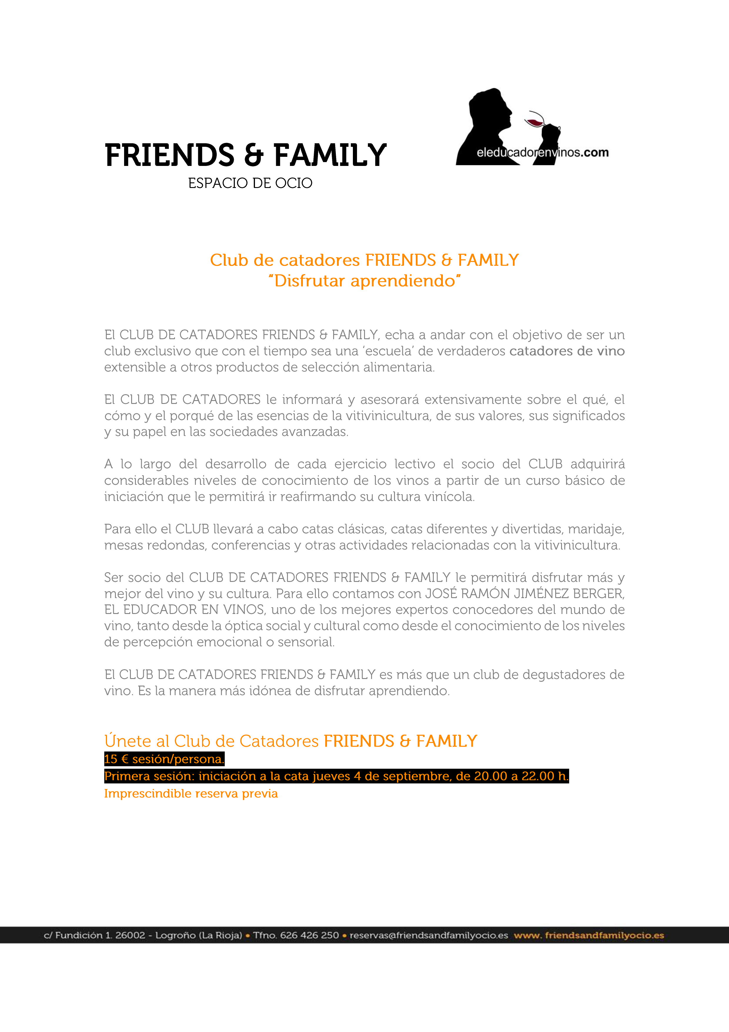 FRIENDS_Club de catadores_enlace
